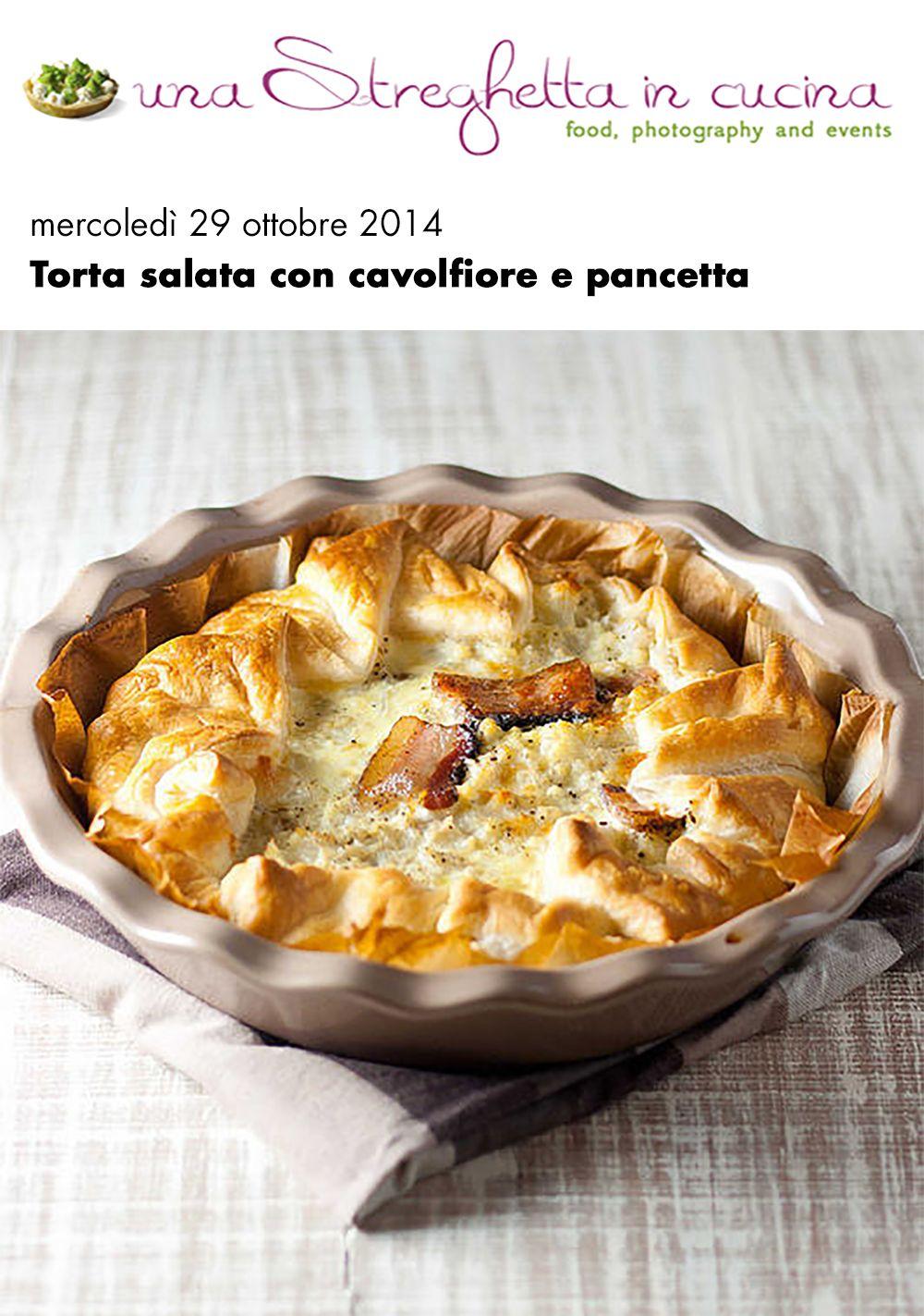 Torta salata con pancetta Vecchio Varzi