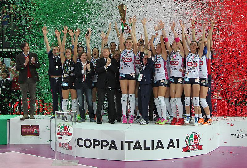 Complimenti Alle Campionesse D'Italia Di Pallavolo