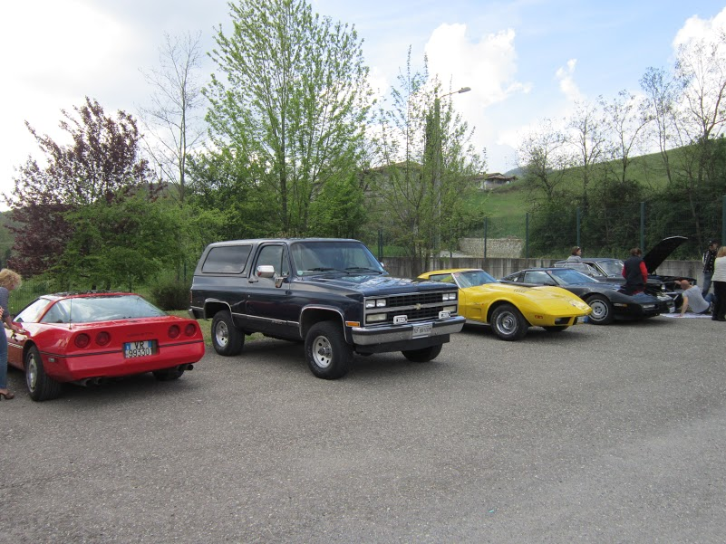 Auto Dello Chevrolet North Owners Club Of Italy Allo Stabilimento Vecchio Varzi