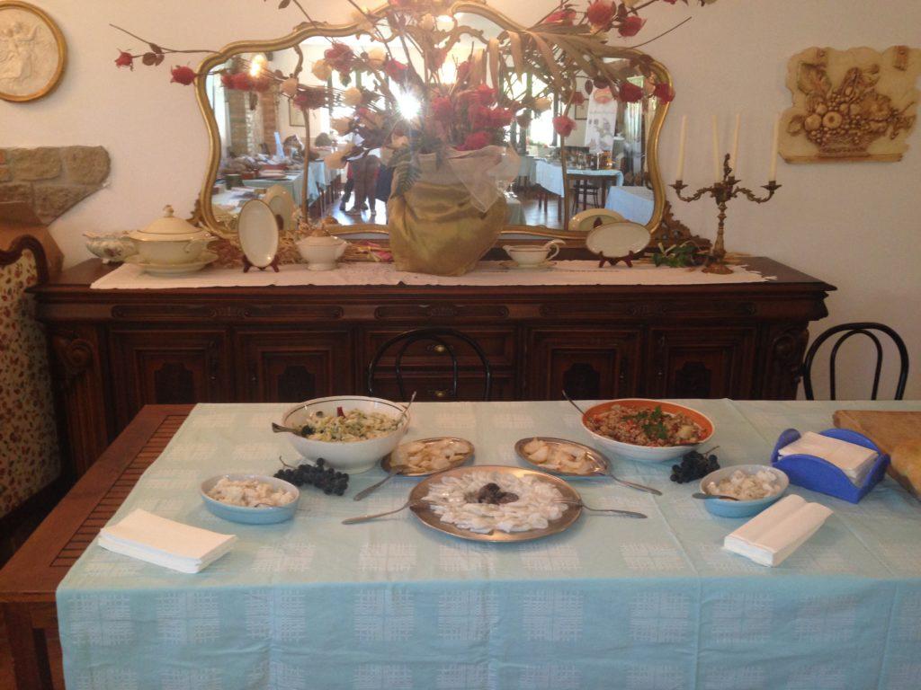 La degustazione di baccalà e stoccafisso Monti