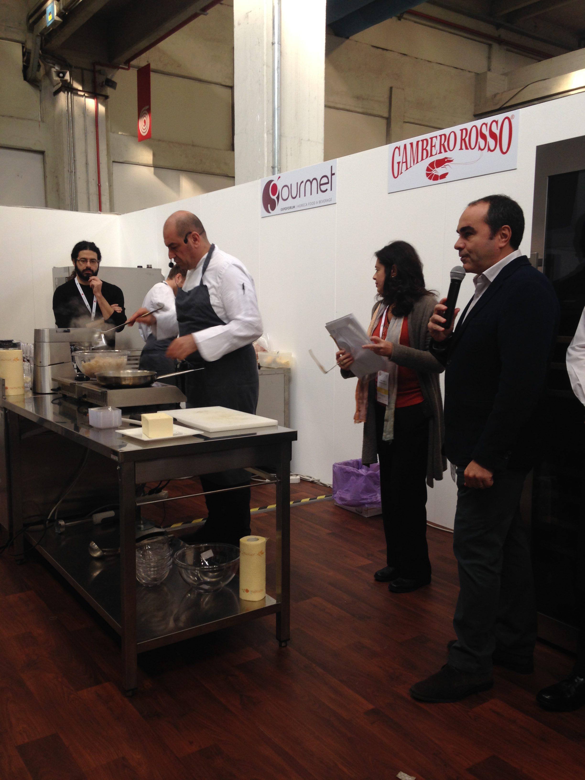 Show cooking al Gourmet Expo 2016. tra gli ingredienti anche i prodotti Vecchio Varzi.