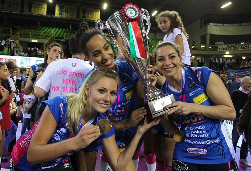 La grande festa delle ragazze di Igor Volley