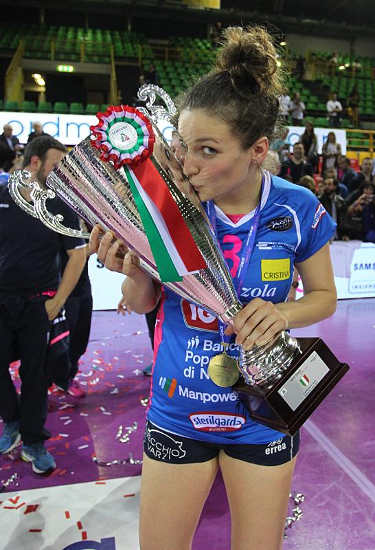 La grande festa delle compionesse di Igor Volley